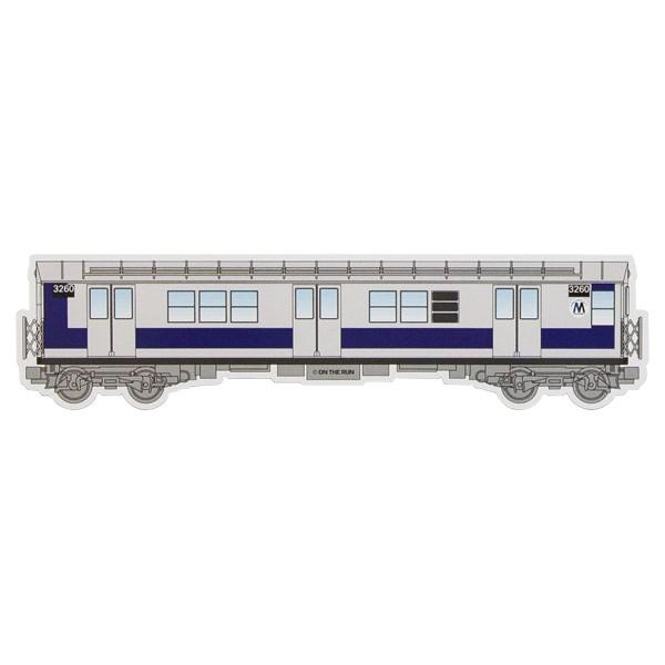 """OTR Magnet """"NY Subway - Classic"""" Big (44,7x11,1cm)"""
