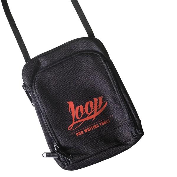 "Loop ""Shoulder Bag"" Black/Red"