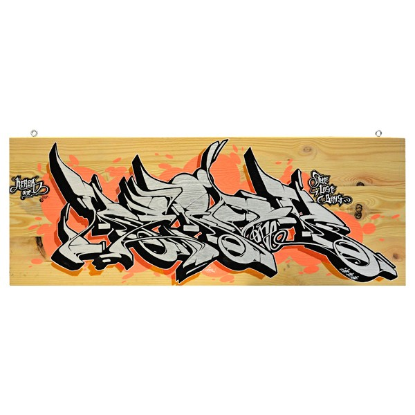 """Kerock - Silver Rock (Original)"" 30x80cm"