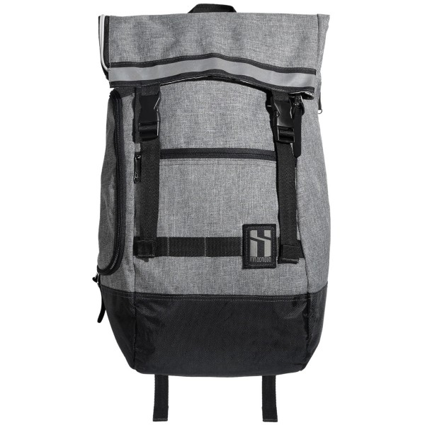 """Mr. Serious """"Wanderer Backpack"""" Heather Grey"""