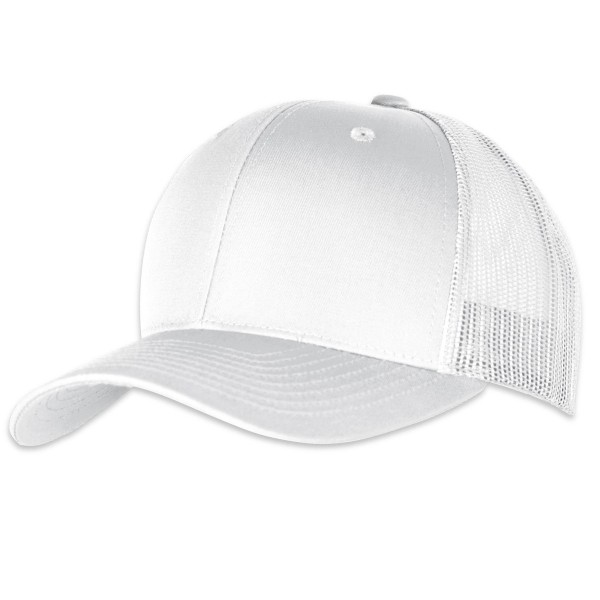 "Flexfit Yupoong Retro ""Trucker Cap"" White"