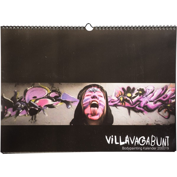 "Kalender 2019 ""B Painted"" Villa Vagabunt Bodypainting"