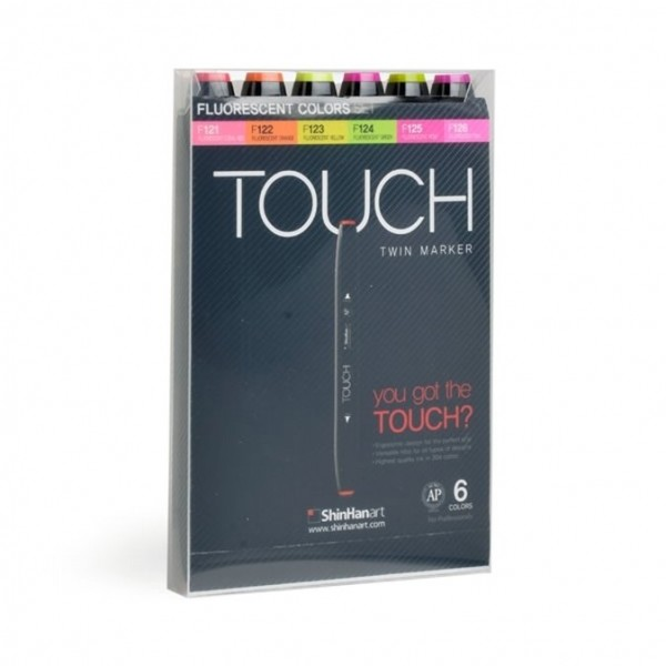 """Touch """"Twin 6er Set - Fluorescent"""""""