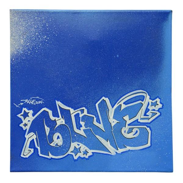 """Kbum - Blue (Original)"" 30x30cm"