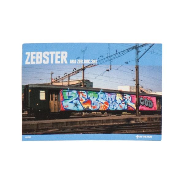 """OTR Magnet """"OTR.Books #15 Zebster"""" (13,5x9,2cm)"""