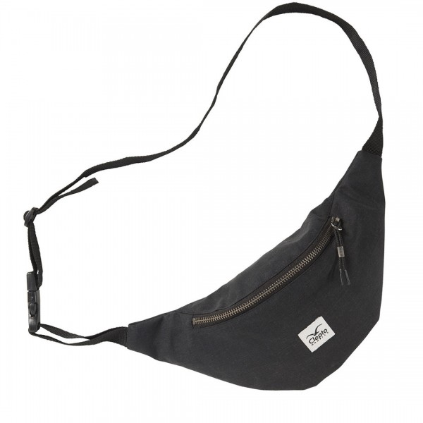"Cleptomanicx Hip Bag ""Hemp"" Black"