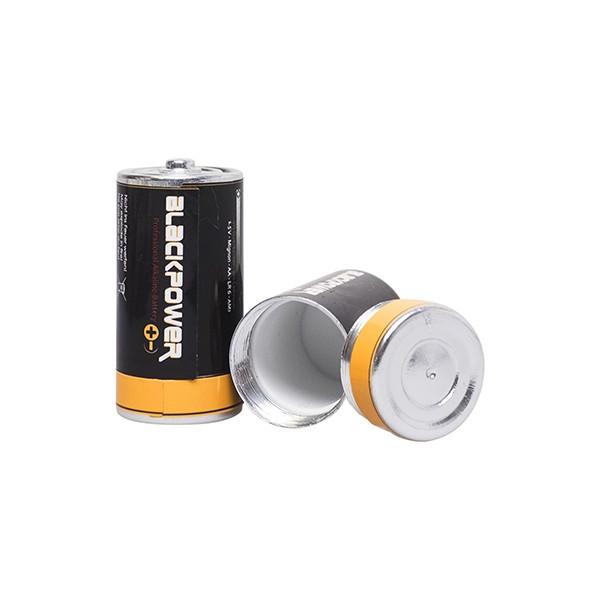 "Plastic Fantastic ""Batteriesafe Blackpower - Medium"" - Geheimversteck"