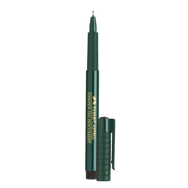 """Faber-Castell """"Finepen 1511 Document"""" (0,4 mm) - Black"""