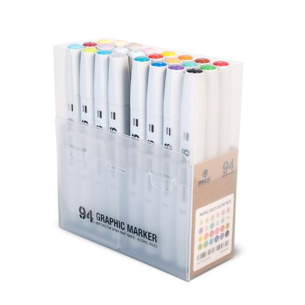 """MTN """"94 Graphic Marker 24er Set - Basic/Pastel"""""""