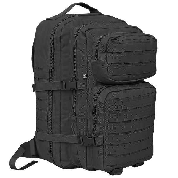 "Brandit ""US Cooper Backpack Lasercut Large"" Black"