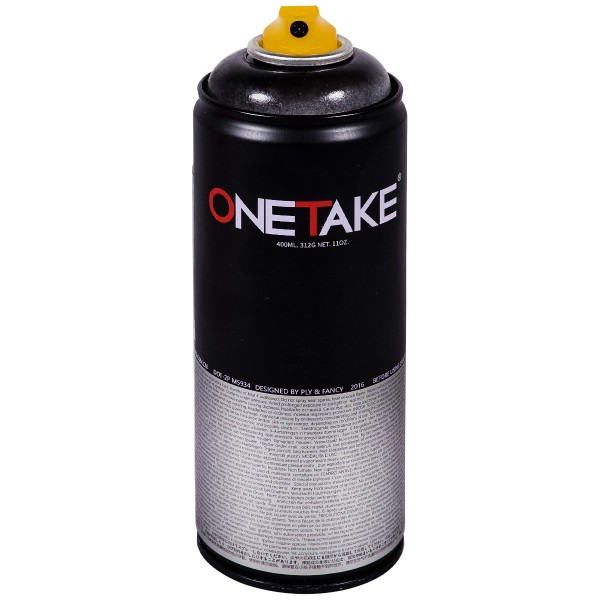 "OneTake ""Transparent Paint - Black"" (400ml)"
