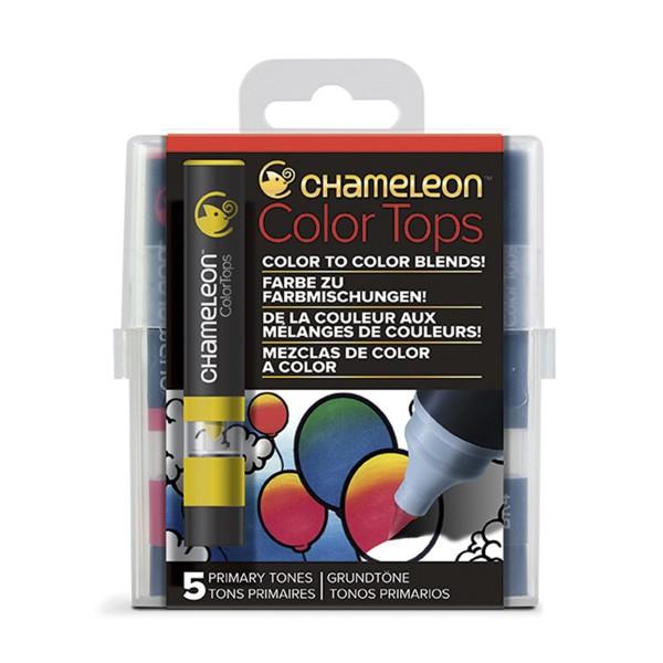 "Chameleon ""5 Color Tops - Primary Tones"""