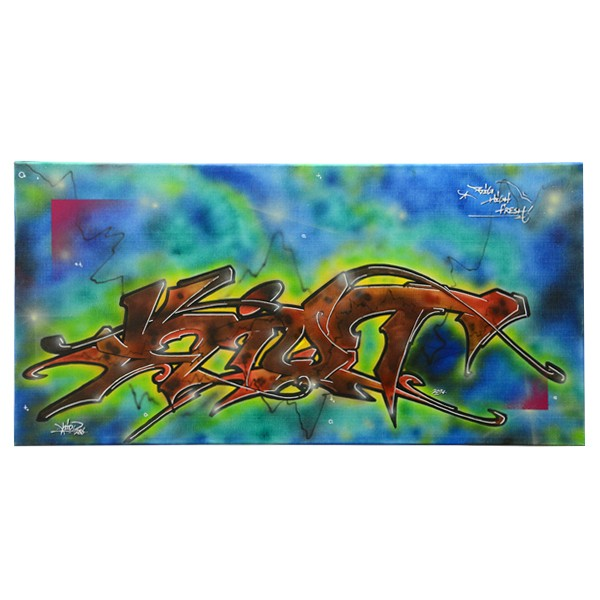 """Kiot - Big High Fresh (Original)"" 40x80cm"