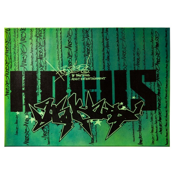 """Hocus77 - Matrix (Original)"" 50x70cm"
