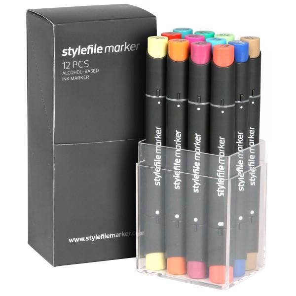 "Stylefile Twin Marker ""12er Set"" Main B"