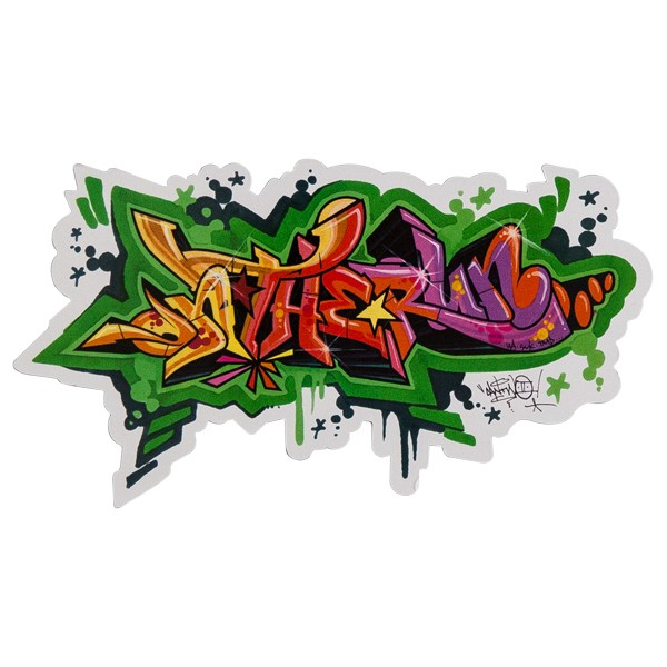 """OTR Magnet """"Sketch By CanTwo"""" (30x16,4cm)"""