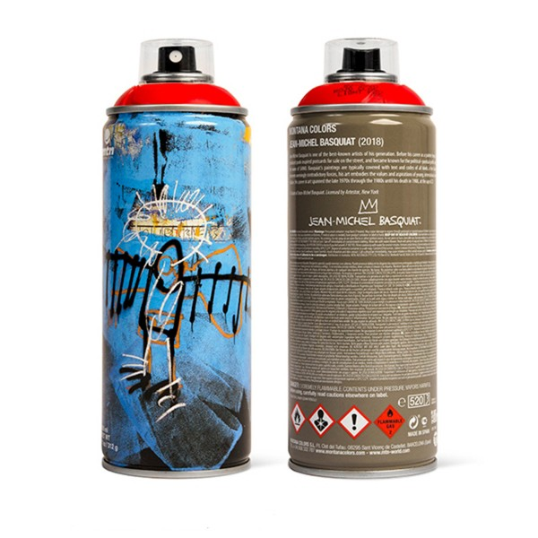 "MTN ""Jean-Michel Basquiat Special Edition - Red"" (400ml)"