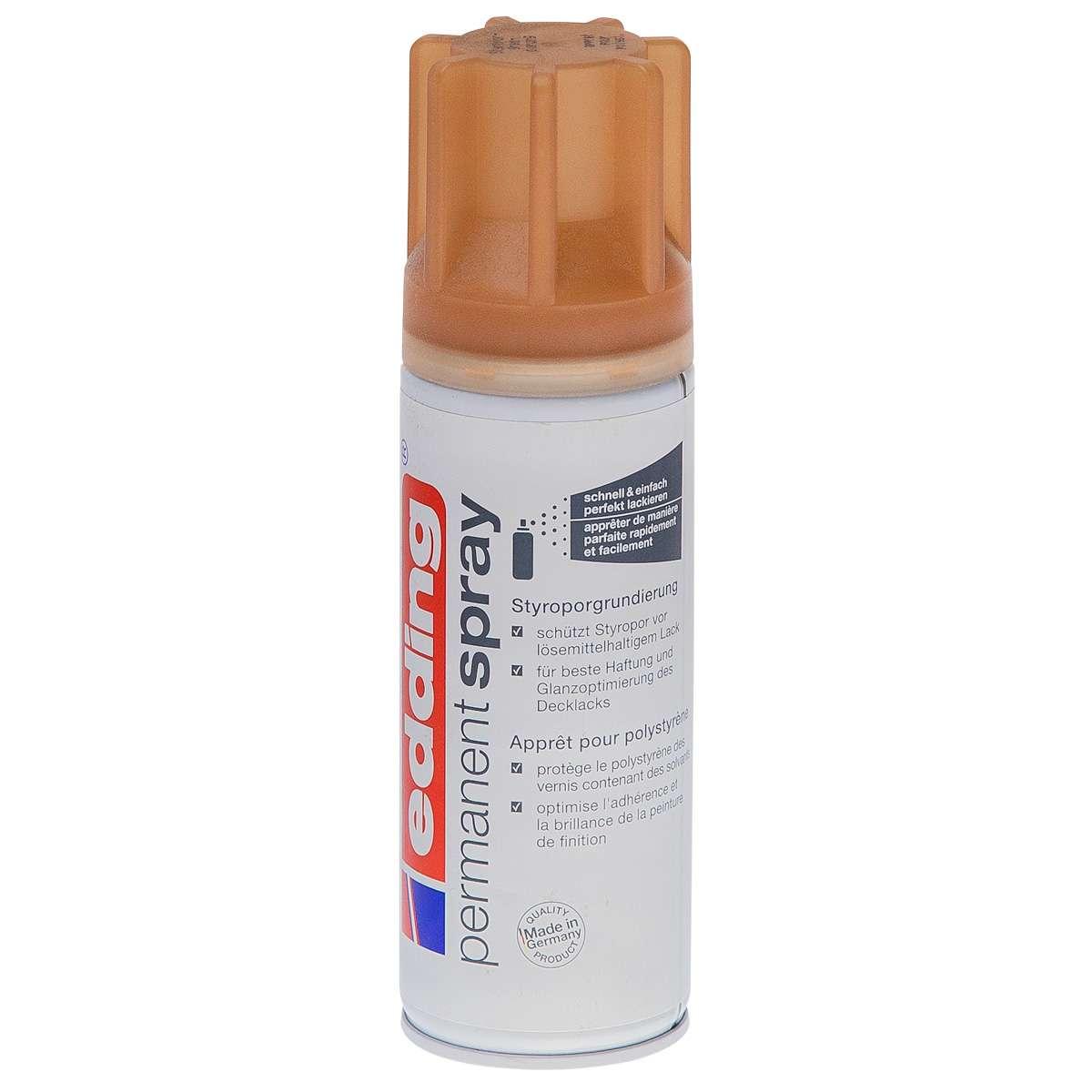 edding permanent spray styroporgrundierung braun 200ml sprühdosen