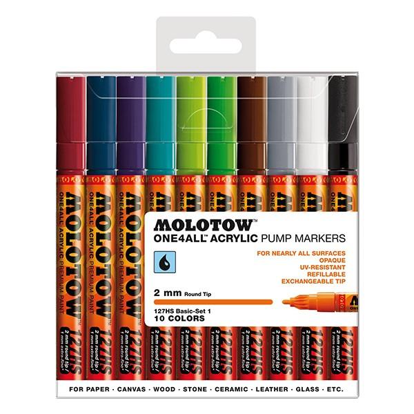 "Molotow ""127HS"" One4all 10er Marker Set (2mm) - Basic 2"