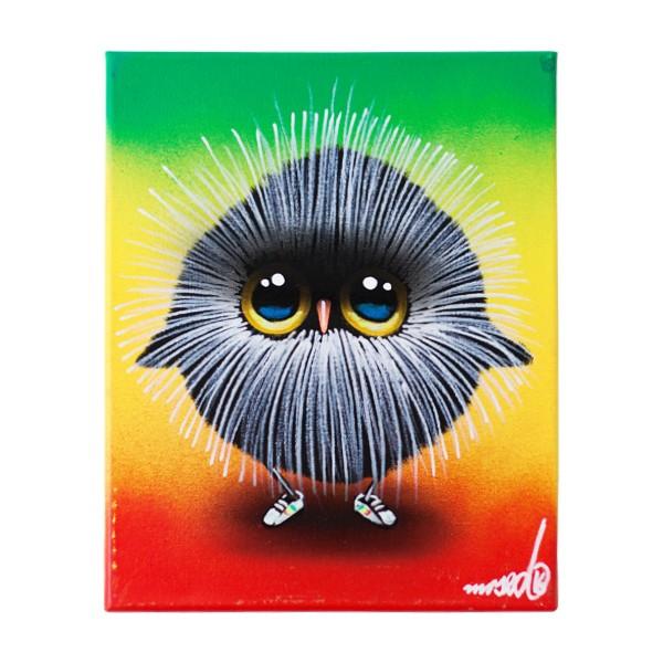 """Mr. Sed - Jamaica Wuffel Puffel (Original)"" 24x30cm"