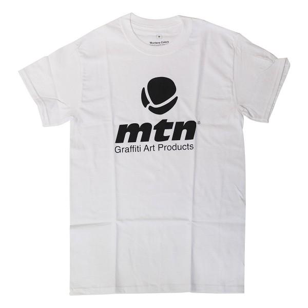 """MTN T-Shirt """"Basic Logo Front"""" White"""