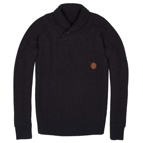 "Cleptomanicx Sweater ""S.Hawl"" Dark Grey"