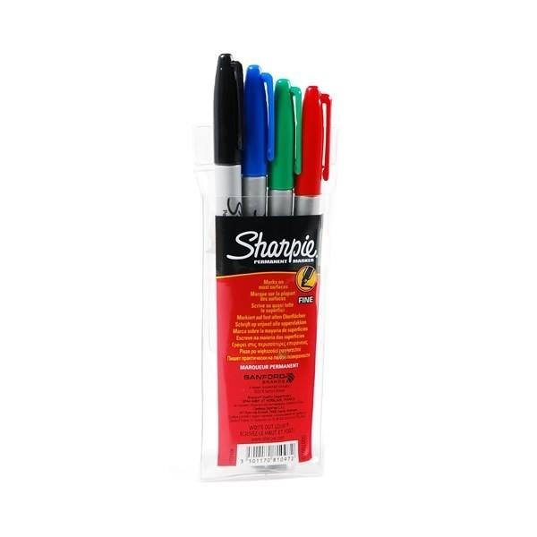 """Sharpie """"Fine"""" Marker 4er Set (1-2mm)"""