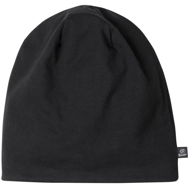 """Brandit """"Jerseycap Bicolor Beanie"""" Black/Anthracite"""