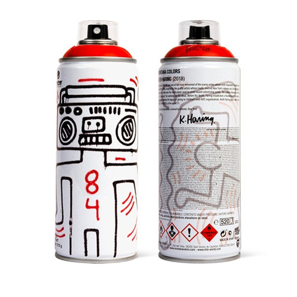 """MTN """"Keith Haring Special Edition - Red"""" (400ml)"""
