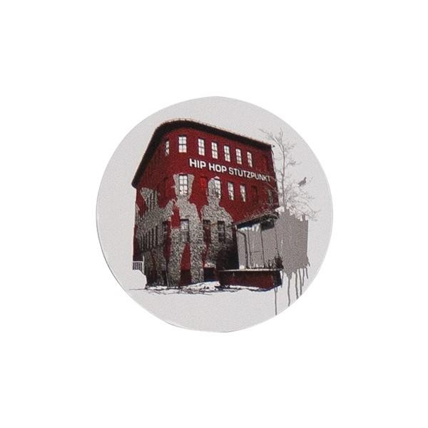 """OTR Magnet """"Hip Hop Stützpunkt"""" (9x9cm)"""
