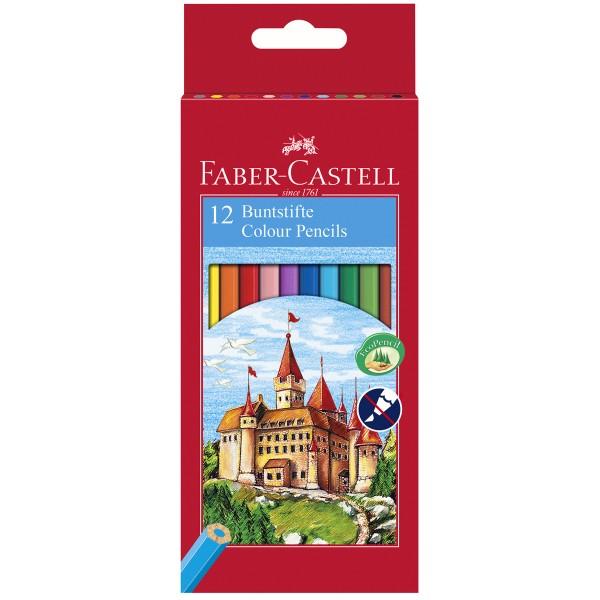 """Faber-Castell """"Castle Buntstift"""" 12er Set"""