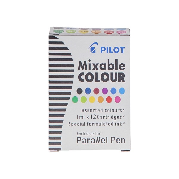 "Pilot ""Parallel Pen"" Ersatzpartonen 12 Stk. - Mix Colors"