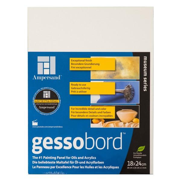 "Ampersand ""Gessobord - Museum Series"" (3mm) - 18x24cm"