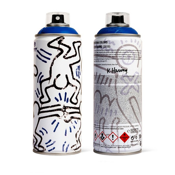 "MTN ""Keith Haring Special Edition - Blue"" (400ml)"