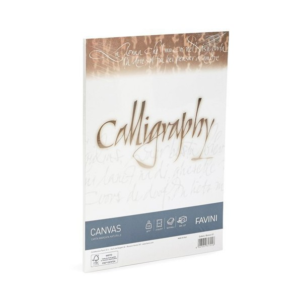 """Favini """"Canvas Calligraphy Paper"""" A4"""