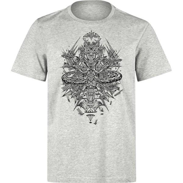 "Underpressure T-Shirt ""Sky Valley"" Heather Grey"