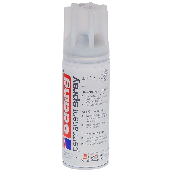 "Edding Permanent Spray ""Universalgrundierung"" Grey (200ml)"