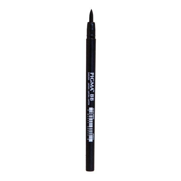 "Sakura ""Pigma Professional Brush Pen BB"" - Black"
