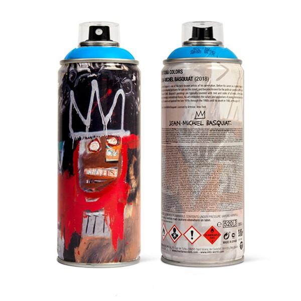 "MTN ""Jean-Michel Basquiat Special Edition - Blue"" (400ml)"