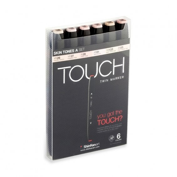 "Touch ""Twin 6er Set - Skin Tones A"""