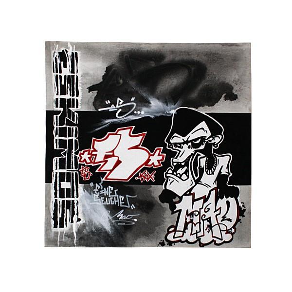 """""""Mao - Eine Seuche (Original)"""" 40x40cm"""