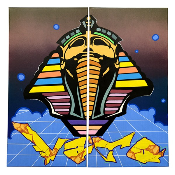 """Vato - Vato Ench Amun (Original)"" 2x 30x60cm"