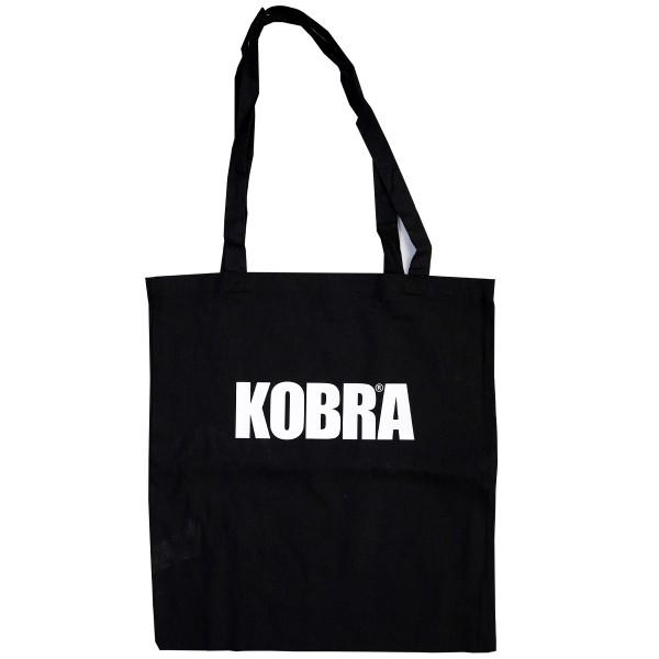 """Kobra Stofftasche """"Kobra Logo"""" - Black/White"""