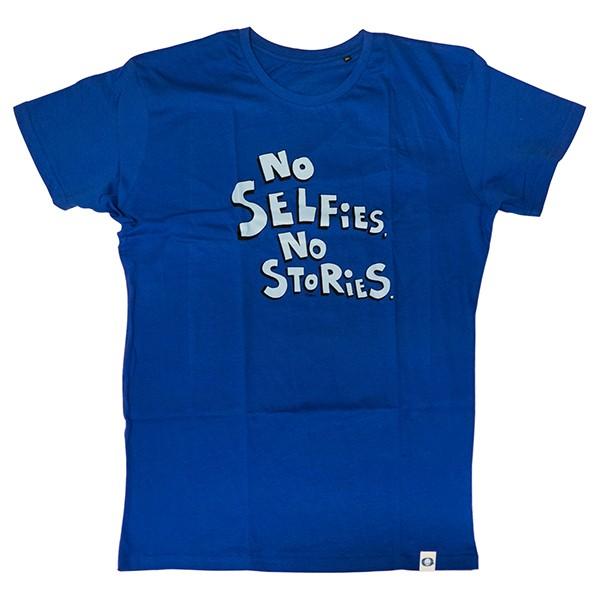Good Guy Boris T Shirt No Selfies No Stories Blue T Shirts