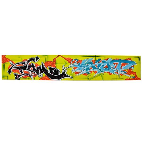 """Turo & Kiot - Gelbe Infektion (Original)"" 20x120cm"