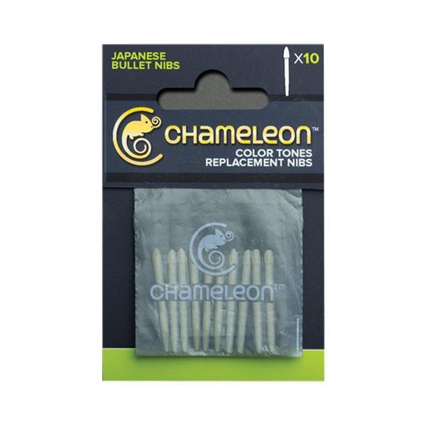 """Ersatzfilze """"Chameleon Twin Marker Bullet"""" (0,6mm) - 10 Stk."""