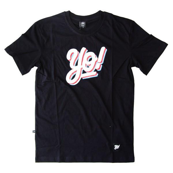 """Yo! T-Shirt """"Logo"""" - Black"""