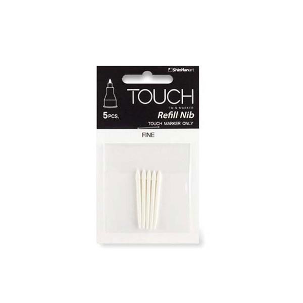"""Ersatzfilze """"New Touch Twin Marker Fine"""" (1mm) - 5 Stk."""