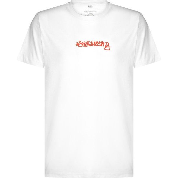 """Heis T-Shirt """"Stylewriting"""" White/Rusted"""