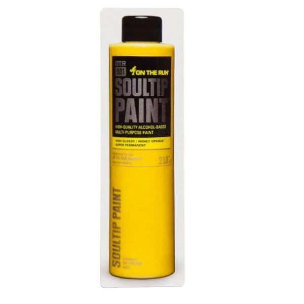 """OTR Magnet """"OTR.901 Soultip Paint"""" Yellow (5,4x18,4cm)"""